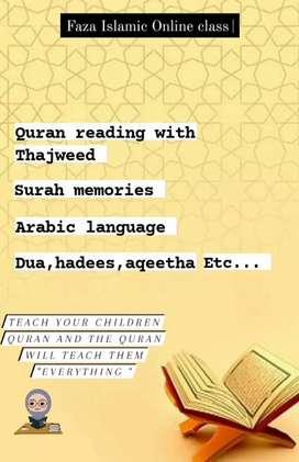 I'm a Islamic teacher  &Arabic teacher