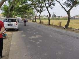 Tanah  pinggir jalan utama luas 1.2ha. Cocok utk bikin mini cluster