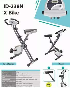 Sepeda x bike tanpa sandaran id 238 n