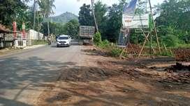 Jual kavling premium pinggir jalan provinsi bogor view pegunungan