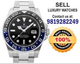We buy Rolex Hulk Patek, Audemars,Vacheron, Omega Watch buyers