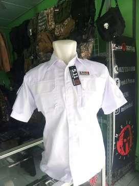 Kemeja Putih Lengan Pendek 511 Tactical (Medan Tactical)