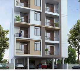 Big size 3 bhk flates with 2 balcony