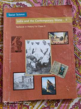 Contemporary India HISTORY class 10