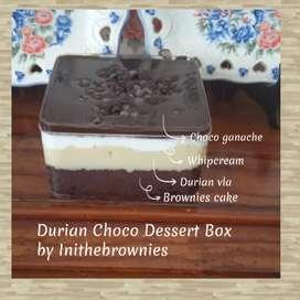 Promo Durian Choco Dessert Box