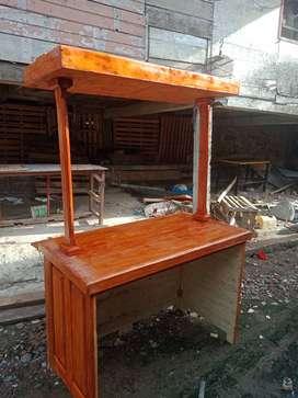 gerobak jualan, booth portable