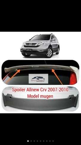 Spoiler crv 2007-2010 model mugen