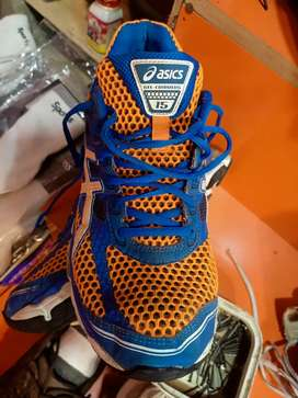 ASICS running shoes. Used
