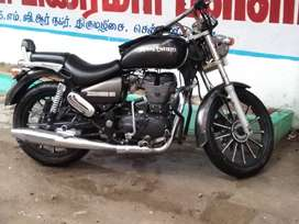 Trendy Royal Enfield with alloy wheel