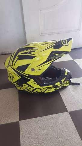 Helm gm motocross