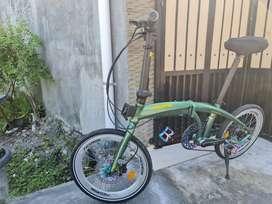 Jual sepeda lipat pasific noris 3 upgrade