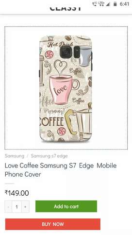 Samsung s7 edge back cover