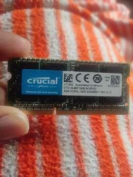 4GB RAM (DDR3)