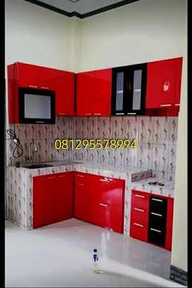 Interior kitchen set HPL minimalis