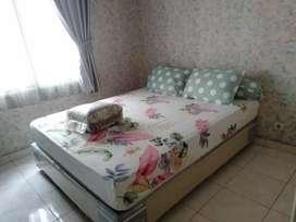 disewakan apartemen 2 BR, furnish di MOI kelapa gading
