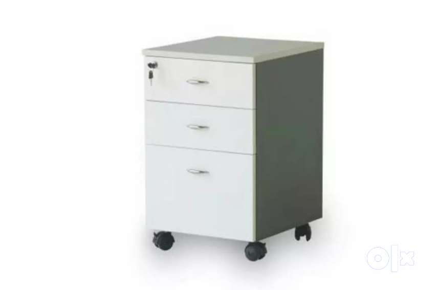 Office mobile pedestal 80 nos available grey colour 0