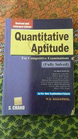 Quantitative Aptitude-RS Agarwal