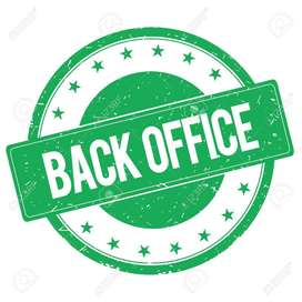 urgent hiring in back office executive.