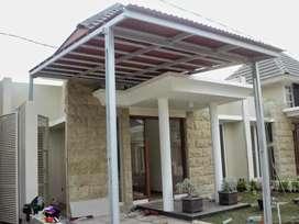 Kanopi baja ringan, renovasi rumah dan bangunan baru