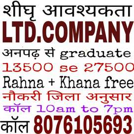 Urgently need direct joining latter not interview