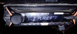 Sony player+jbl1500+pioneer 500 watts+Sony amp600