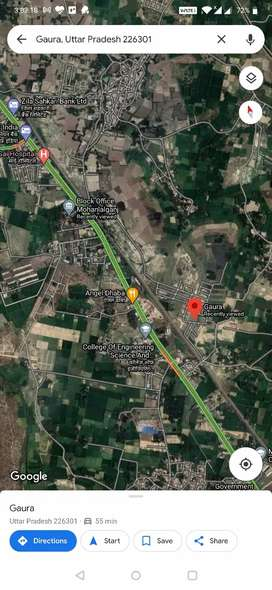 1000 sqr ft fully developed plot of Sahu colonizers, Mohanlal ganj