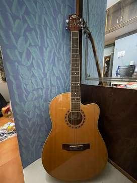 GB & A Mahagany Guitar