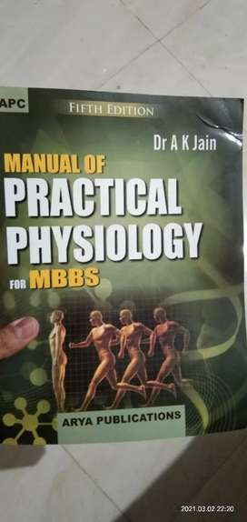 Practical physiology for mbbs