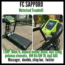 Treadmill Elektrik Sapporo // Cadang 10.42