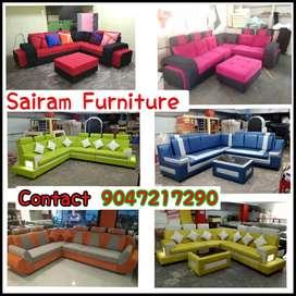 Sairam Furniture Factory outlet luxury Corner sofa set