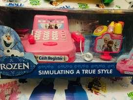 Mainan anak kasir register baru