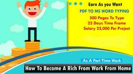 data entry work in home