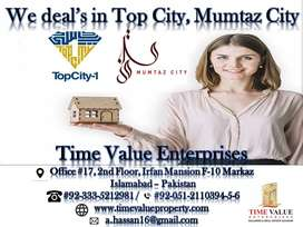 24 Marla plot for sale In Mumtaz City Islamabad Plot for sale