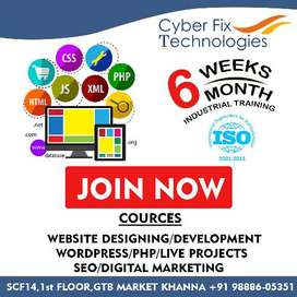 Web designing and Development in khanna, SEO Training in khanna