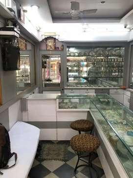 Running jewellery shop