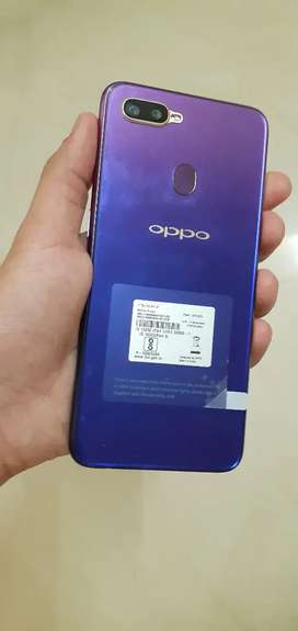Oppo F9 Pro 6GB RAM 64GB ROM Special Edition Starry Purple Colour.