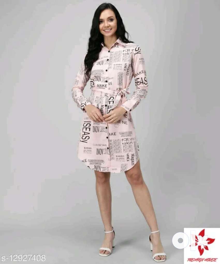 Paper print Women Dress 0