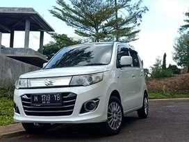 Jual mobil Suzuki Karimun wagon R GS 2014 Plat w