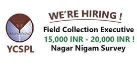 Nagar Nigam Survey work- No Charges