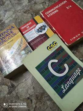 Four books are there