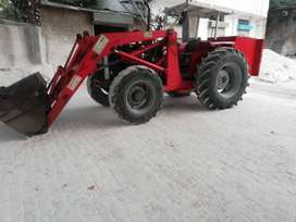 Front wheel loader 4 by 4