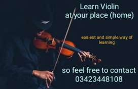 Learn Violin , Guitar and piano