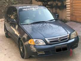 Cultus VXR 2007 can be derived both CNG and Petrol just buy and drive