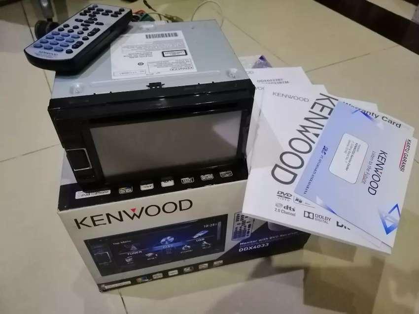 Head Unit KENWOOD DDX 4033 0