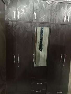 Big size new wardrobe set full storage for sale