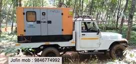 Generator (30kv single phase ) with private pickup