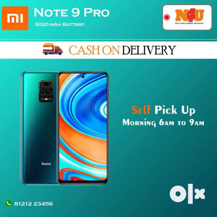 Mi note 9 pro now available at N4UMOBILES ameerpet 0