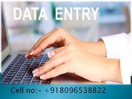 offline data entry through notepad