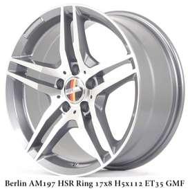 modell BERLIN AM197 HSR R17X8 H5X112 ET35 GMF
