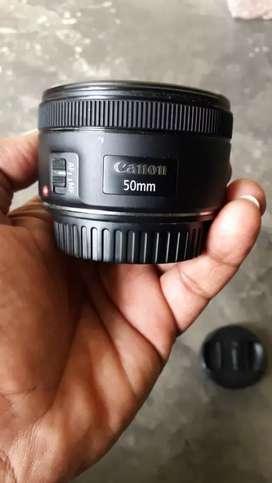 Canon EF50mm F/1.8 STM lens